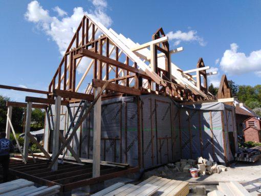 Castor - Dlaczego drewno jest wyjątkowe? Dom drewniany amurowany - 1