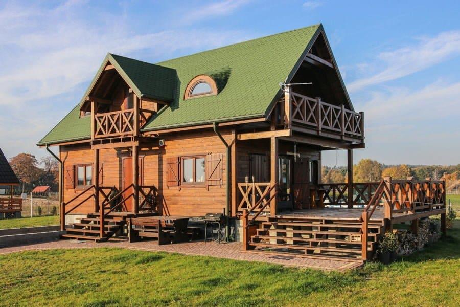 Castor - Domy drewniane. Jeden materiał, różne oblicza - 1