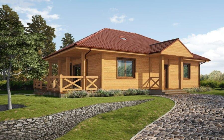 Castor - Domy drewniane. Jeden materiał, różne oblicza - 2