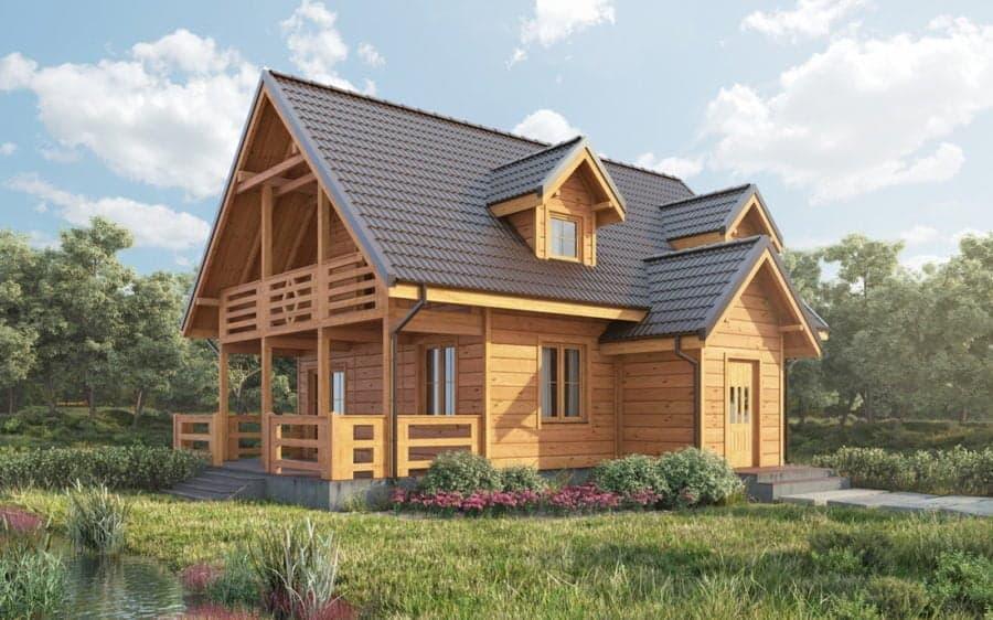 Castor - Domy jednorodzinne opowierzchni zabudowy do90 m2 - 13