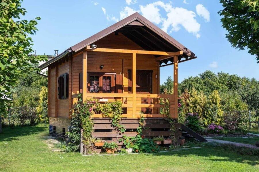 Castor - Drewniane domki letniskowe do35 m2 - 1
