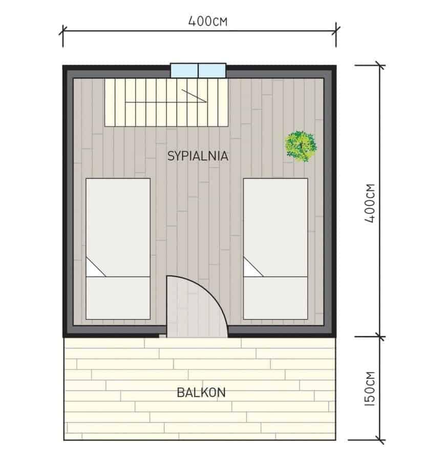 Castor - Drewniane domki letniskowe do35 m2 - 7